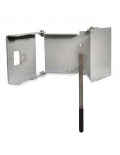 Caratec TV beugel CFW-200 1arm zilver