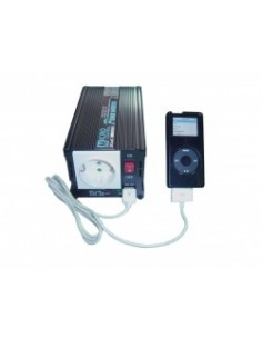 Inverter INV-300 12/24V-230V 300W omvormer + USB