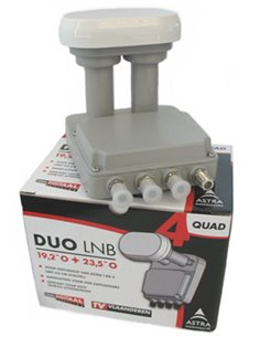 ASTRA Duo LNB Quad TDS-64+