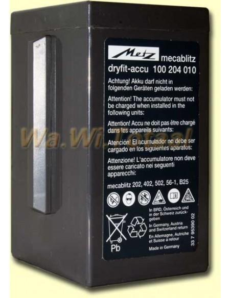 Accu Dryfit voor Metz 60CT-1 flitser (origineel)