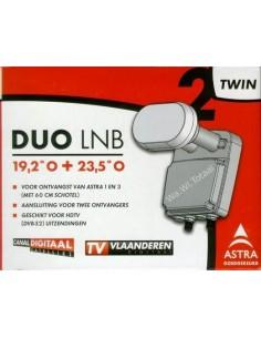 Duo LNB Twin voor ASTRA 1 & 3 HD(voor 60/64cm schotel) (EOL)