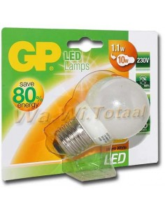 GP Led lamp 1.1W(10W) E27 warmwit