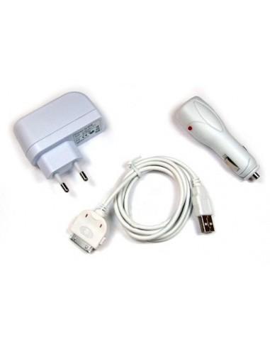 Lader PDA Iphone 3G Asseccoiresset 12V Kabel/220V