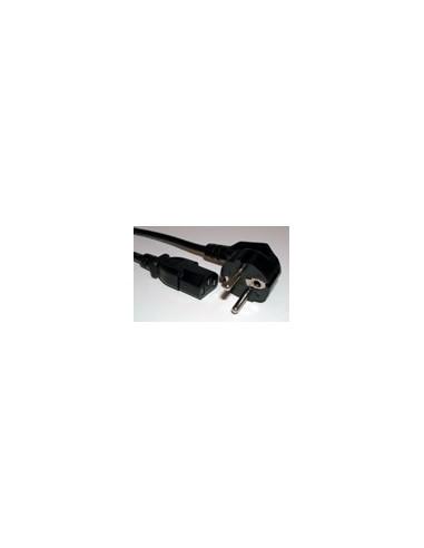 Kabel voeding - 230v Notebook zwart Kema gekeurd 3.0m