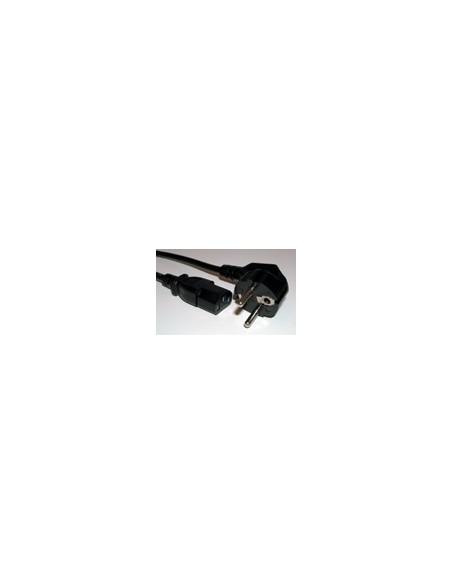 Kabel voeding - 230v zwart Kema gekeurd