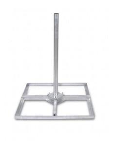 Tegelvoet 4x30cm gegalvaniseerd (1 meter)