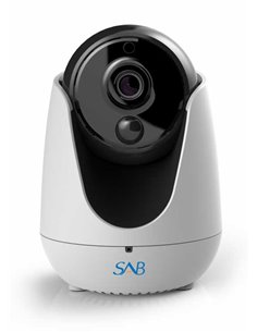 SAB IP1500 Camera Indoor (P005) - Indoor HD Wireless PTZ IP Camera