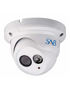 SAB IP1100 Camera Outdoor (P007) - Outdoor HD PoE Dome IP Camera