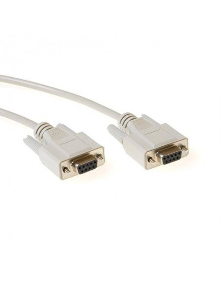 Null-modem kabel F/F RS232 voor oa. satelliet firmware 3.0m