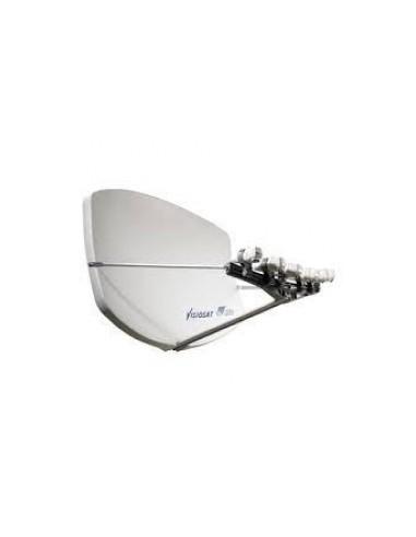Visiosat BigBiSat multisat antenne antraciet