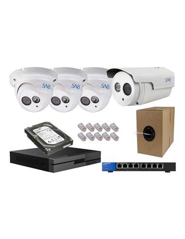 SAB 4 Cameras set
