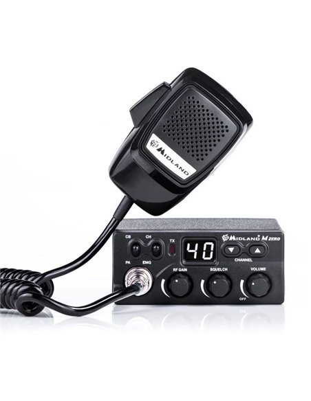 Midland M-Zero Plus FM/AM CB transceiver + cigar p