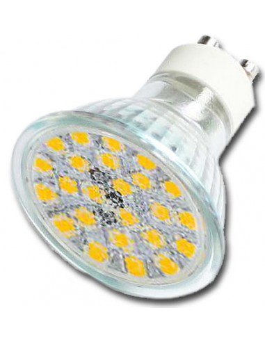 LED SPOT 5W GU10 Warm Wit 350Lumen - ESCMAG127. Foto wijkt af!