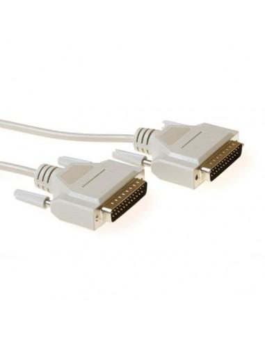 Kabel Serieel cross wired D25M-D25M 5.0mtr