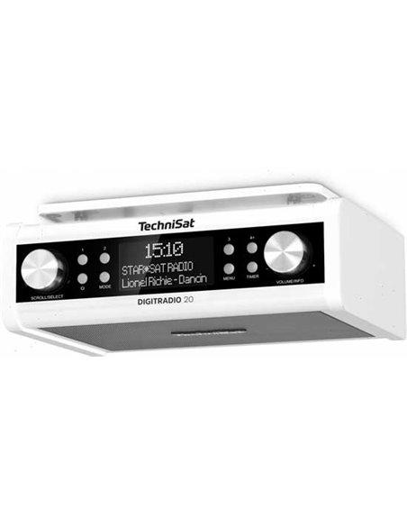 Technisat DigitRadio 20 Dab+ keukenradio wit