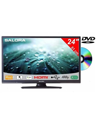 Salora 24LED9109 +DVD DVB-C/T/S 12V CD/Joyne