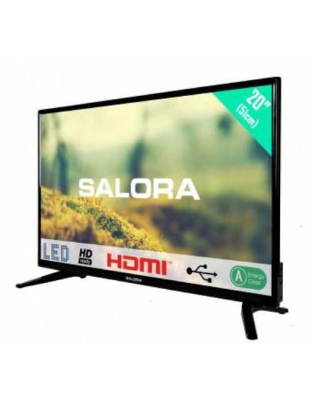 "Salora Bente20A2111 20"" LED TV analoog 220/12Volt"