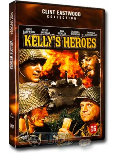 Kelly's Heroes - Clint Eastwood, Donald Sutherland - DVD (1970)