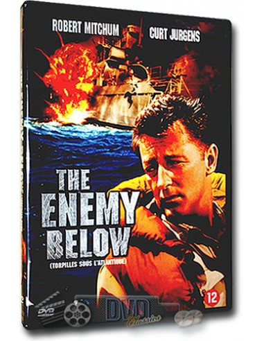 Enemy Below - Robert Mitchum, Curd Jürgens - Dick Powell - DVD (1957)
