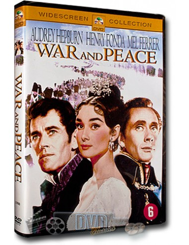 War and Peace - Audrey Hepburn, Henry Fonda - DVD (1956)