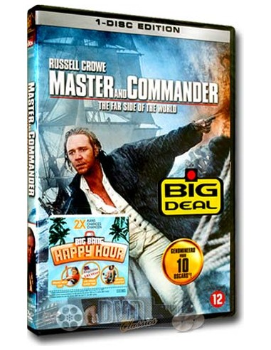 Master and Commander - Russell Crowe - DVD (2003)