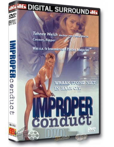 Improper Conduct - Steven Bauer - DVD (1994)