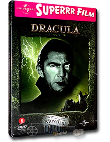Dracula van Bram Stoker - Bela Lugosi - Tod Browning - DVD (1931)