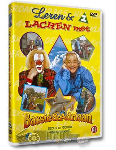Bassie & Adriaan - Leren en lachen met 1 - DVD (1986)