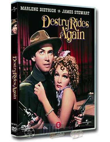 James Stewart in Destry Rides Again - Marlene Dietrich - DVD (1939)
