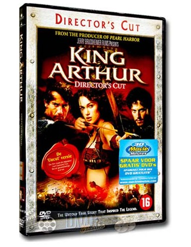King Arthur - Clive Owen, Keira Knightley - DVD (2004)