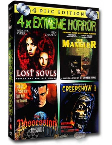 Extreme Horror 5 [4DVD] - DVD