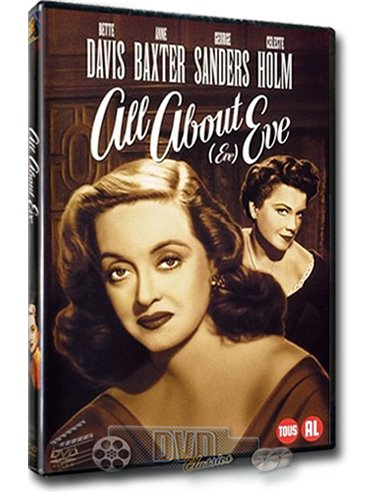 All about Eve - Bette Davis - Joseph L. Mankiewicz - DVD (1950)