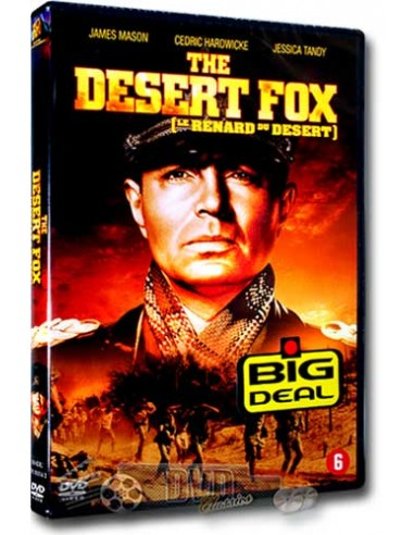 The Desert Fox - James Mason - Henry Hathaway - DVD (1951)