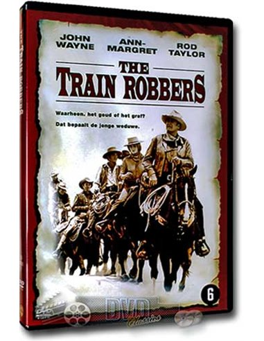 John Wayne in The Train Robbers - DVD (1973)