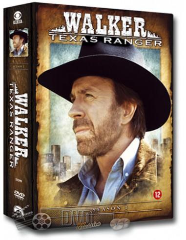 Walker Texas Ranger - Seizoen 1 - Chuck Norris - DVD (1993)