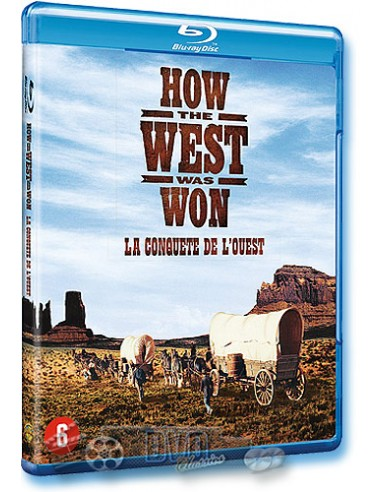 How The West Was Won - Henry Hathaway, John Ford - Blu-Ray (1962)