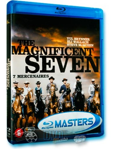 The Magnificent Seven - Yul Brynner, Charles Bronson - Blu-Ray (1960)