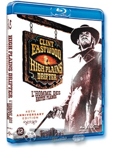High Plains Drifter - Clint Eastwood - Blu-Ray (1973)