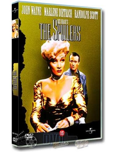 John Wayne in The Spoilers - Marlene Dietrich - DVD (1942)