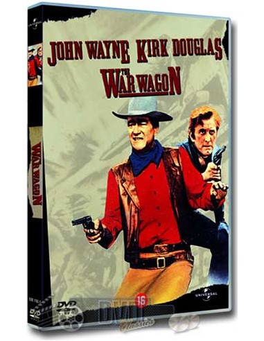 John Wayne in The War Wagon - Kirk Douglas - DVD (1967)