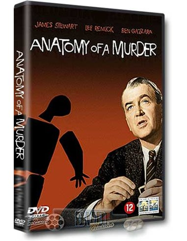 Anatomy of a Murder - James Stewart, Lee Remick - DVD (1959)