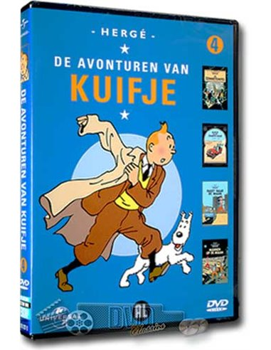 Kuifje Collection 4 - DVD (1991)