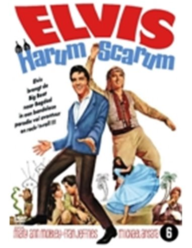 Elvis Presley - Harum Scarum - Mary Ann Mobley - DVD (1965)