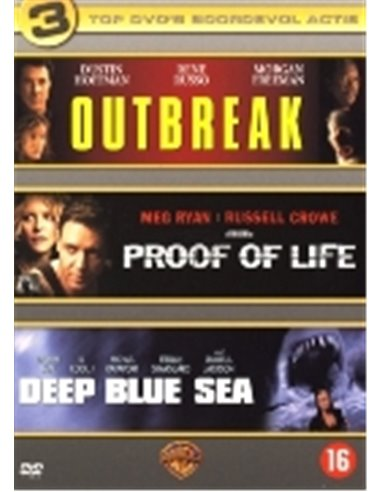 Outbreak / Proof Of Life / Deep Blue Sea - DVD