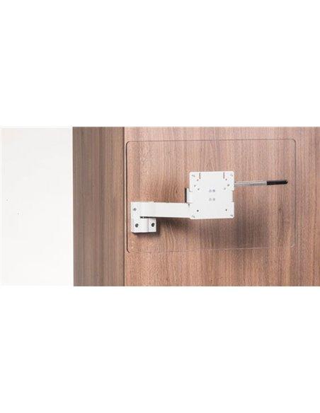 Caratec TV beugel CFW-204A Alu 1arm zilver