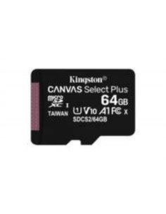 SDCARD Kingston Canvas Select MicroSD 64GB Class10 + adapter