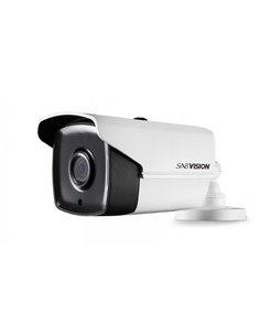 SABVISION Turbo 400 5MP 2.5K QHD EXIR 2.0 Bullet PoC Analog Camera (P222)