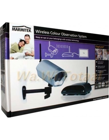 Marmitek Gigacam 4 Draadloos AV monitorsysteem - OP is OP