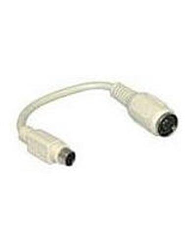 Kabel Adapter DIN Female naar PS/2 Male