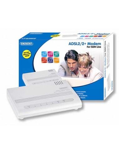 Modem/Router ADSL Eminent ISDN EM4207 (is niet de juiste afbeelding!)